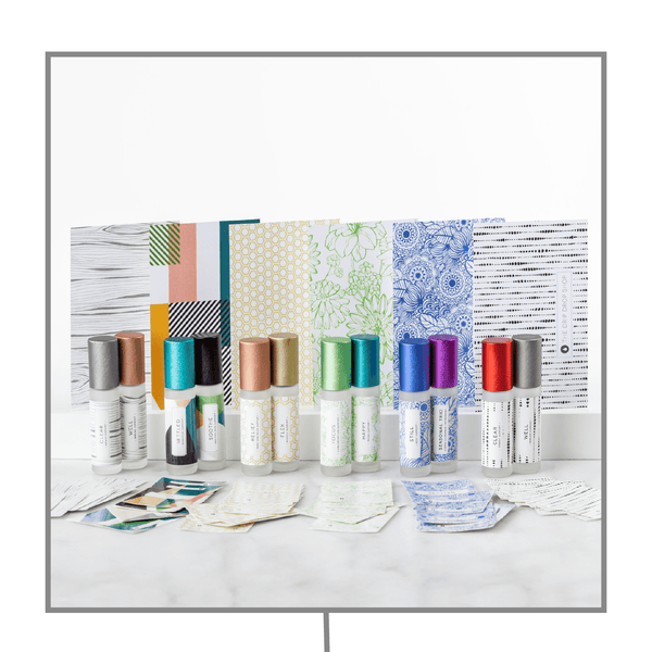 Premium Roller Kit | 6 Styles (10 Labels and/or Post Cards) Containers & Accessories Drip Drop Shop - eos - Easy Oil Solutions - doterra - essential oils