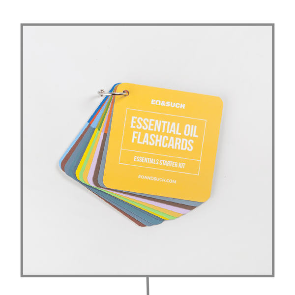 Essentials Starter Kit Flash Cards & Such (Top 10 Essential Oils)