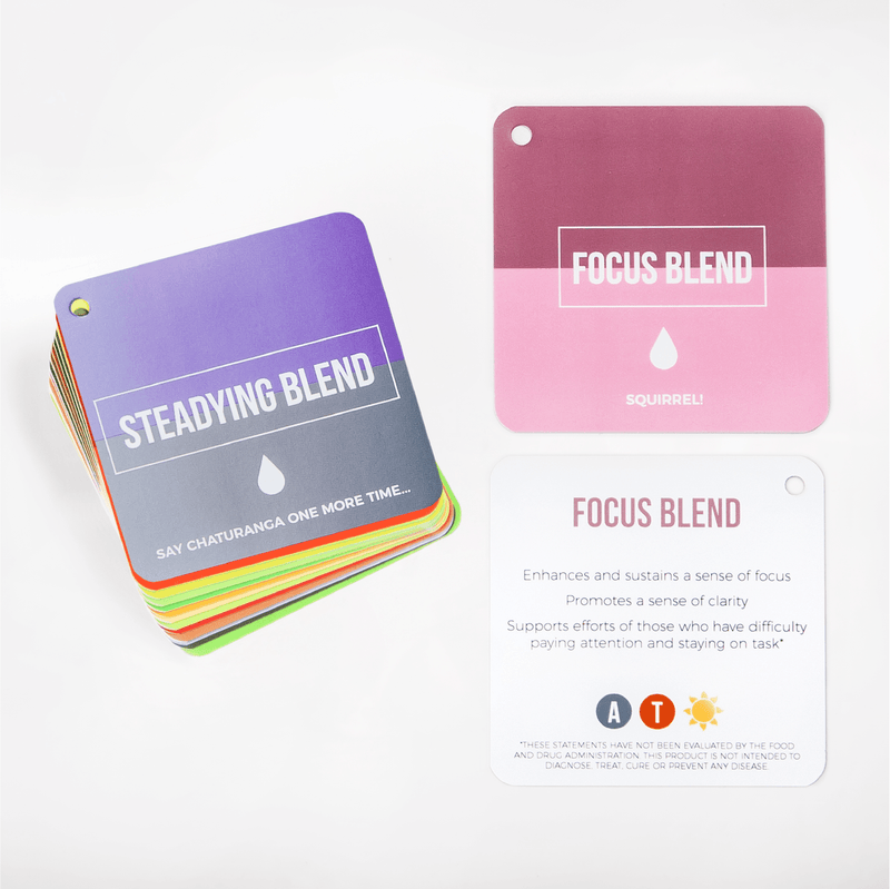 dōTERRA Flash Cards & Such Tools 'Everything But Oils' Wellness Advocate Edition (Blends)