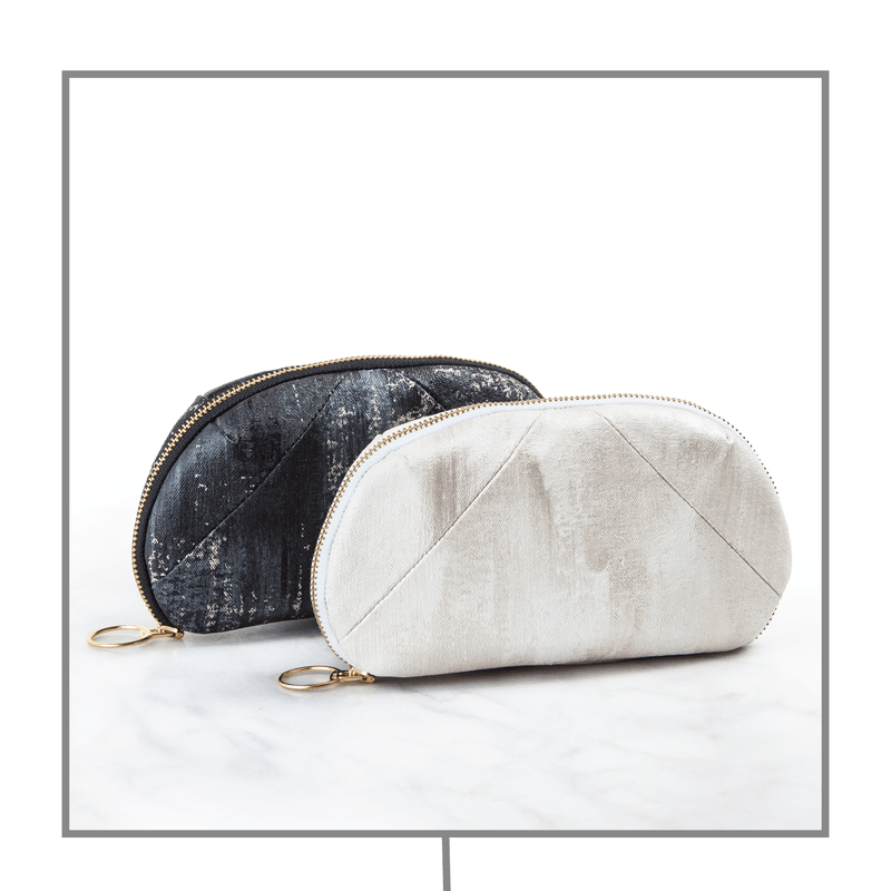 Luxury Gemstone-Infused Clutch Collection Fabric Bags Go-Alignment