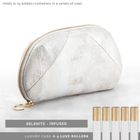 Luxury Gemstone-Infused Clutch Collection Fabric Bags Go-Alignment Selenite YES