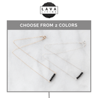 Lava Bar Diffuser Necklace Diffuser Jewelry Lava Living - eos - Easy Oil Solutions - doterra - essential oils