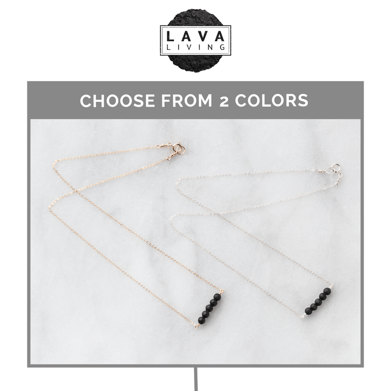 Lava Bar Diffuser Necklace Diffuser Jewelry Lava Living