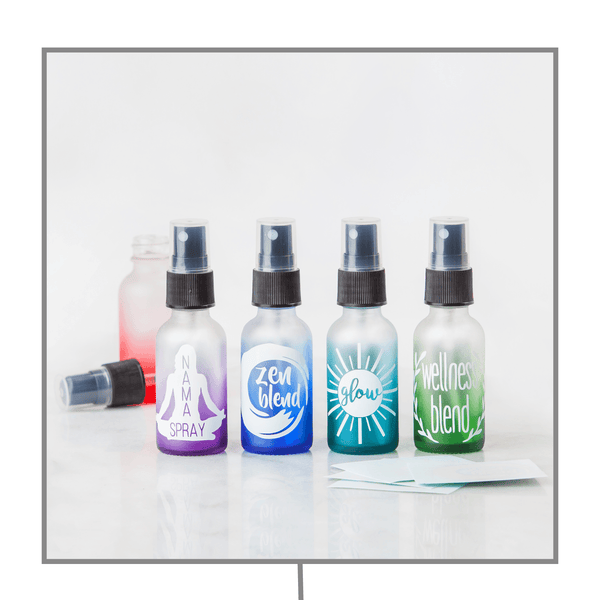 Emotional/Mood Decal Kit (Set of 4) Containers & Accessories Oils All The Time - eos - Easy Oil Solutions - doterra - essential oils