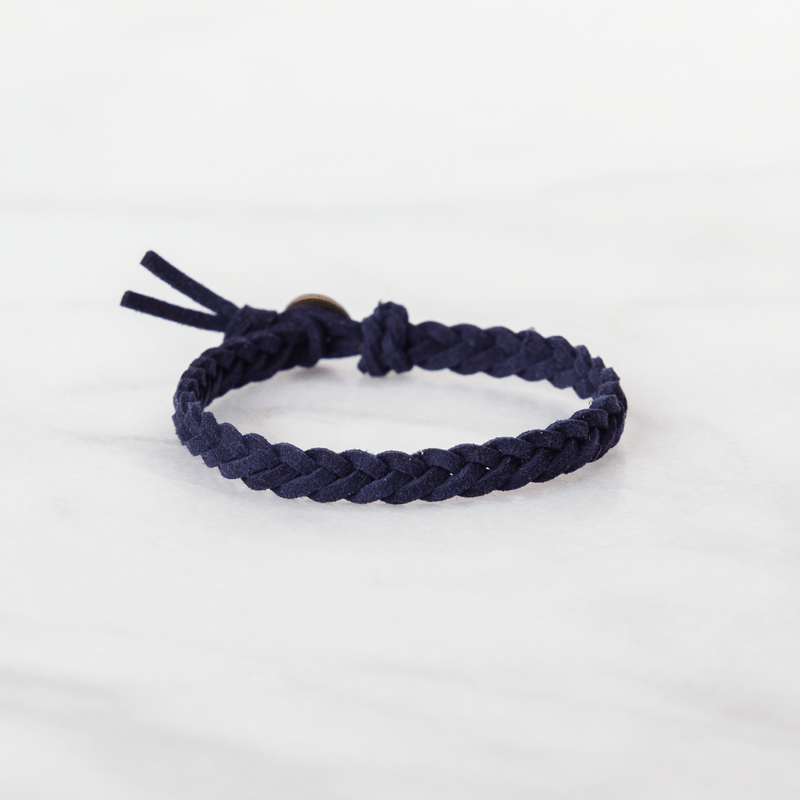 Button Leather Diffuser Bracelet Collection Diffuser Jewelry Put On Love Designs Navy Button Bracelet