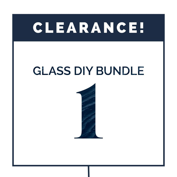 DIY Glass Bundle #1 (CLEARANCE) Containers eos - Easy Oil Solutions