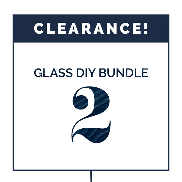 DIY Glass Bundle #2 (CLEARANCE) Containers eos - Easy Oil Solutions