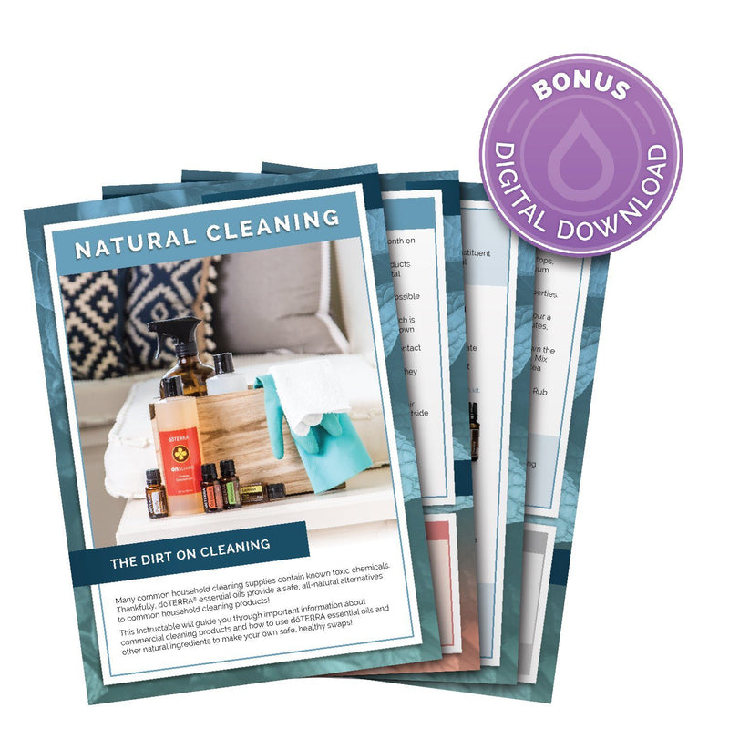*Natural Cleaning Instructable - FREE Download eos - Easy Oil Solutions