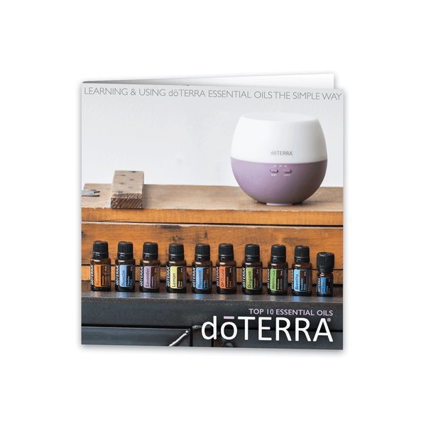 Top 10 Essential Oil Booklet - Version 2 (Pack of 20) Tools Sharing Made Simple - eos - Easy Oil Solutions - doterra - essential oils