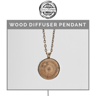 Wood Diffuser Pendant Necklace  Dixie Mango - eos - Easy Oil Solutions - doterra - essential oils