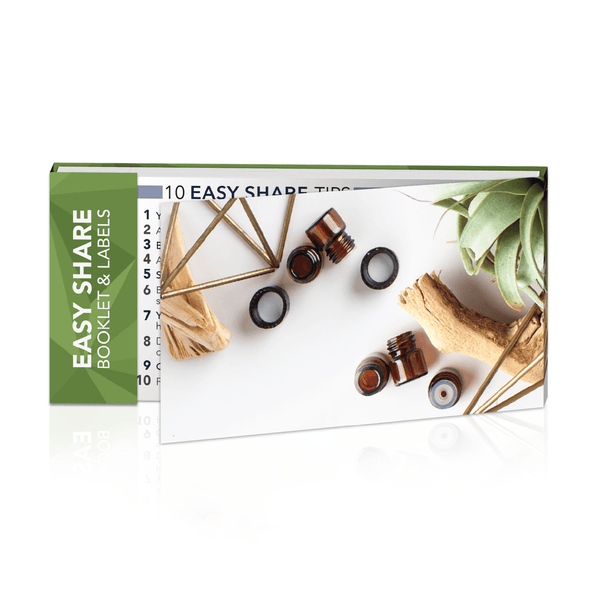 Easy Share Booklet & Labels Accessories eos.life - eos - Easy Oil Solutions - doterra - essential oils