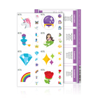 Magic Emoji Luxe Labels with Recipes (1 Sheet) Containers & Accessories Emoji One