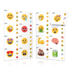Physical or Emotional Emoji Labels (2 Sheet Options) Containers & Accessories Emoji One