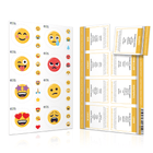 Physical or Emotional Emoji Labels (2 Sheet Options) Containers & Accessories Emoji One Emotional Emoji Labels (1 Sheet) NO
