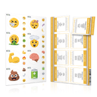 Physical or Emotional Emoji Labels (2 Sheet Options) Containers & Accessories Emoji One Physical Emoji Labels (1 Sheet) NO
