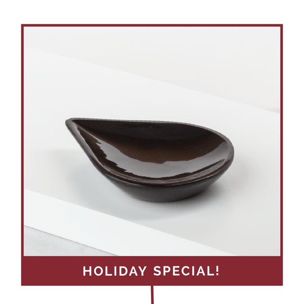 Holiday Black Drop Oil Tray