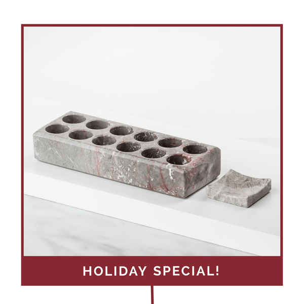 Holiday Onyx Oil Holder