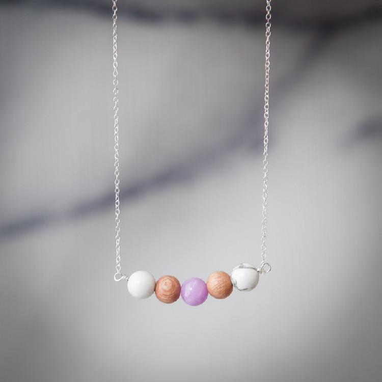 Diffuser Necklaces Diffuser Jewelry Andrea Wysocki - eos - Easy Oil Solutions - doterra - essential oils