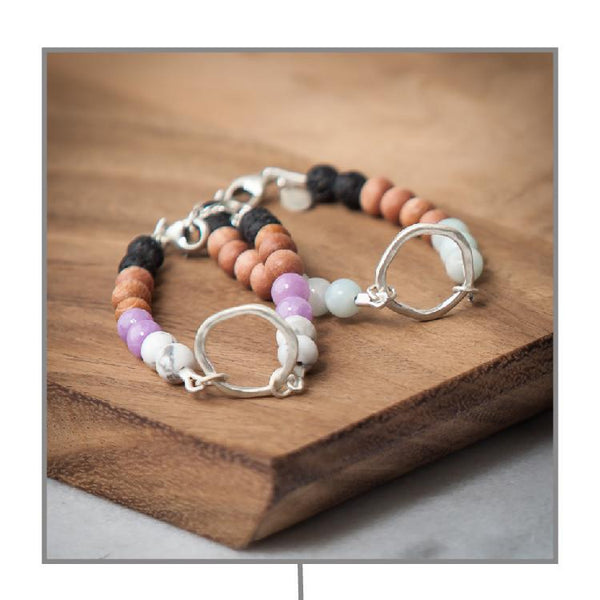 Diffuser Bracelets Diffuser Jewelry Andrea Wysocki - eos - Easy Oil Solutions - doterra - essential oils