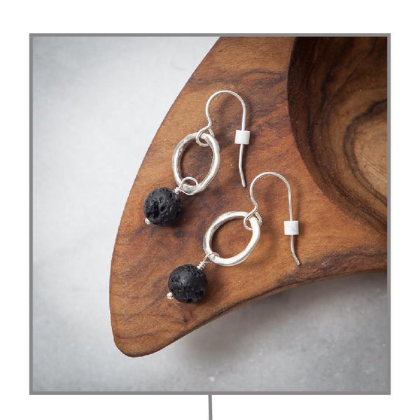 Diffuser Earrings Diffuser Jewelry Andrea Wysocki - eos - Easy Oil Solutions - doterra - essential oils