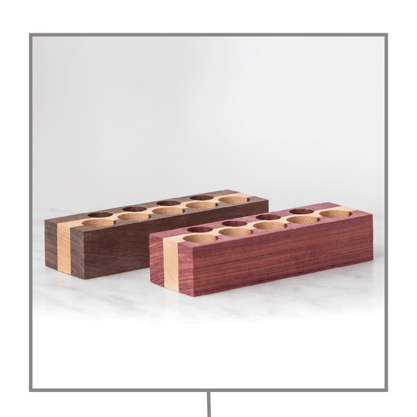 Kindred Essentials Standard Oil Holder Collection Wood Oil Holders Kindred Essentials - eos - Easy Oil Solutions - doterra - essential oils