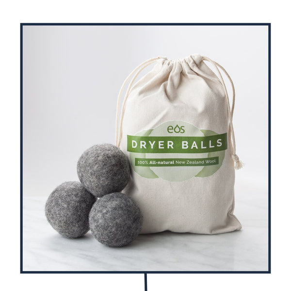 Organic Wool Dryer Balls (Bag of 6 Dryer Balls) eos - Easy Oil Solutions