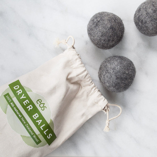 Organic Wool Dryer Balls (Bag of 6 Dryer Balls)