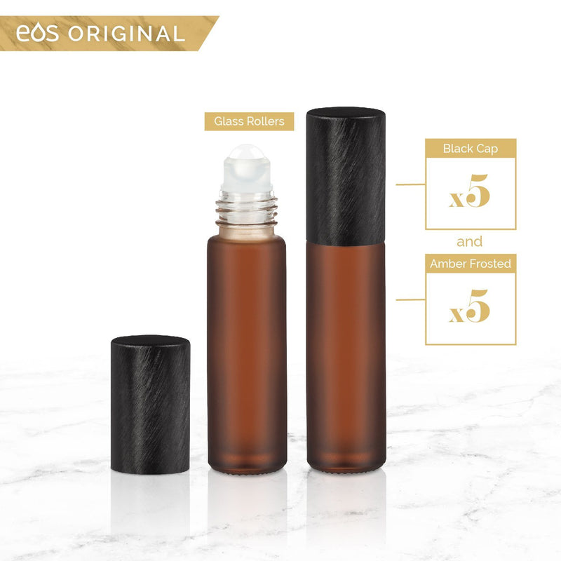 EOS Luxe Classic Collection | 10mL Roller Bottle (5 Pack - Mix & Match) Containers eos.life - eos - Easy Oil Solutions - doterra - essential oils