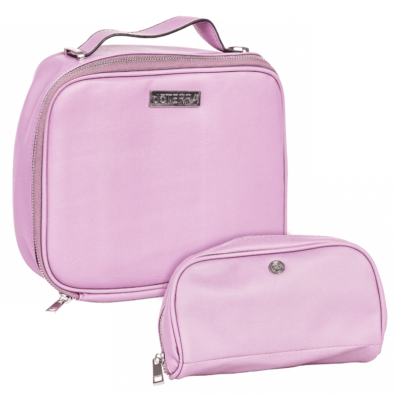 Lavender Vegan Leather Essential Oil Case Collection