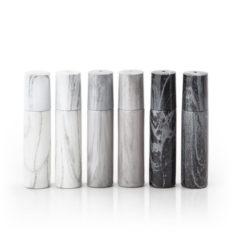 Marble 10 mL Roller Bottle Collection (Pack 6)
