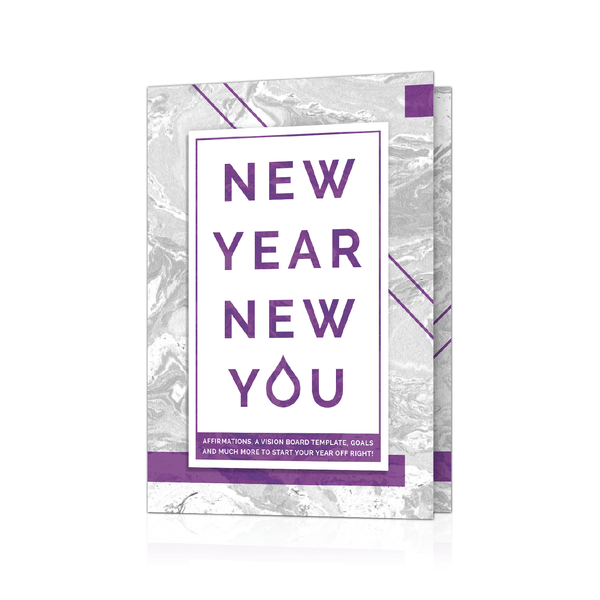 New Year New You Booklet (Pack of 10) Containers & Accessories eos - Easy Oil Solutions