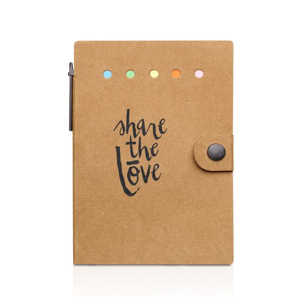Share The Lōve Snap Notebook With Desk Essentials