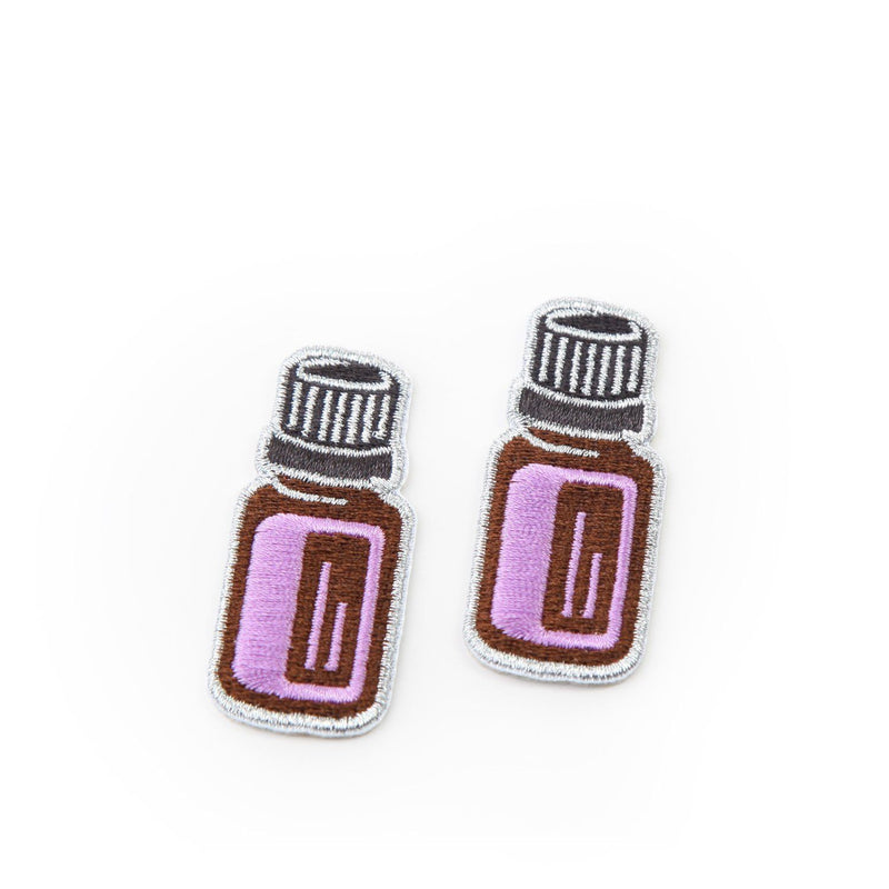 dōTERRA Patch Collection Swag eos - Easy Oil Solutions 15mL Essential Oil Bottle Patch (Pack of 2)