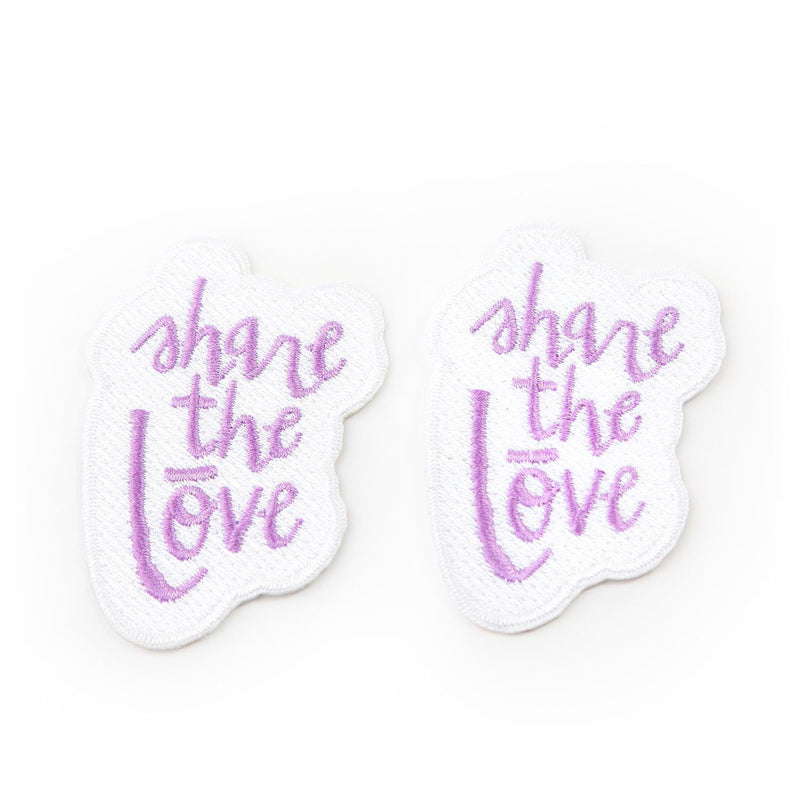 dōTERRA Patch Collection Swag eos - Easy Oil Solutions Share the Lōve Patch (Pack of 2)