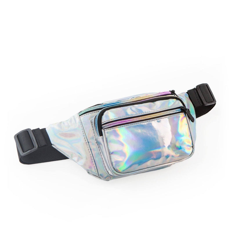 Essential Oil Fanny Pack | Dream Collection Fabric Bags eos - Easy Oil Solutions Iridescent Silver