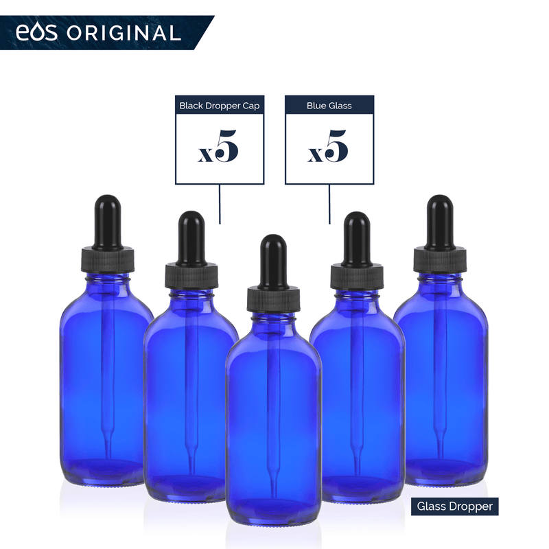 EOS 4 oz Collection (Pack of 5) Containers eos.life - eos - Easy Oil Solutions - doterra - essential oils