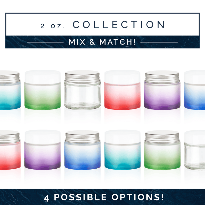 EOS 2 oz Collection (Pack of 5) Containers eos.life - eos - Easy Oil Solutions - doterra - essential oils