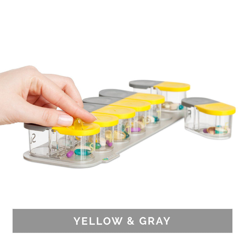 Sagely™ SMART Weekly Pill Organizer