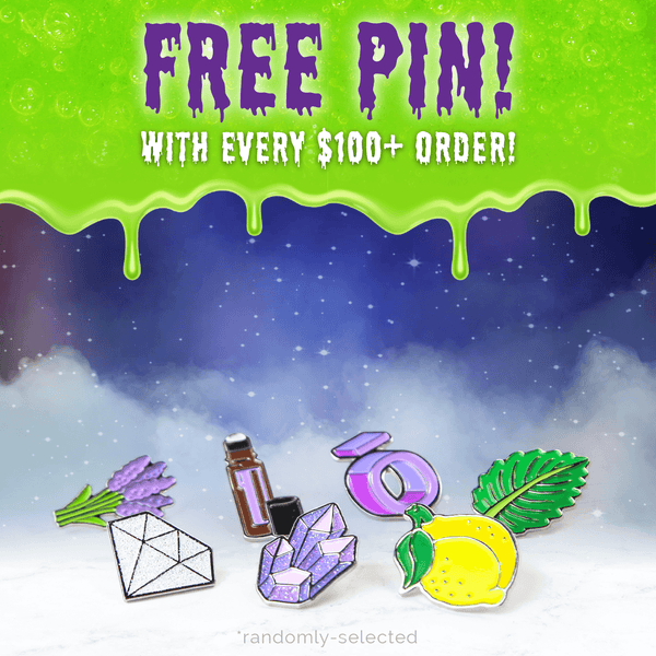 *FREE Enamel Pin with $100+ Purchase!