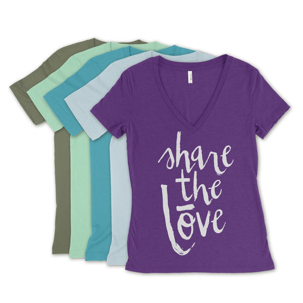 EOS Share the Lōve T-Shirts Apparel Hand-Designed by Hommestead - eos - Easy Oil Solutions - doterra - essential oils