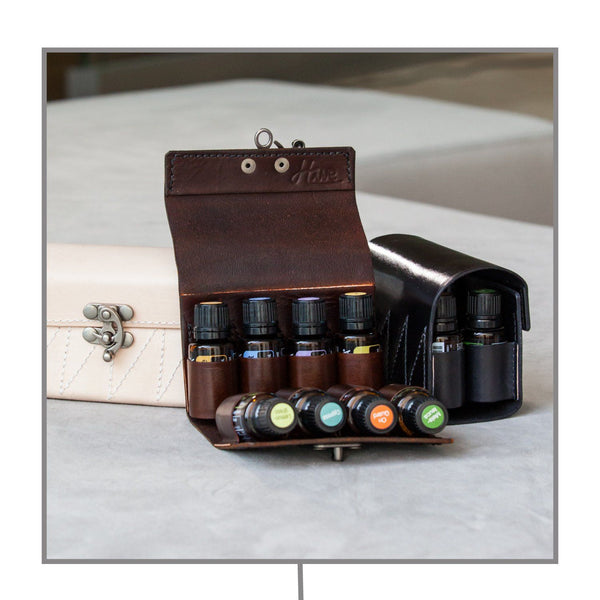 Leather Large Case (Fits 8 - 15ml bottles)