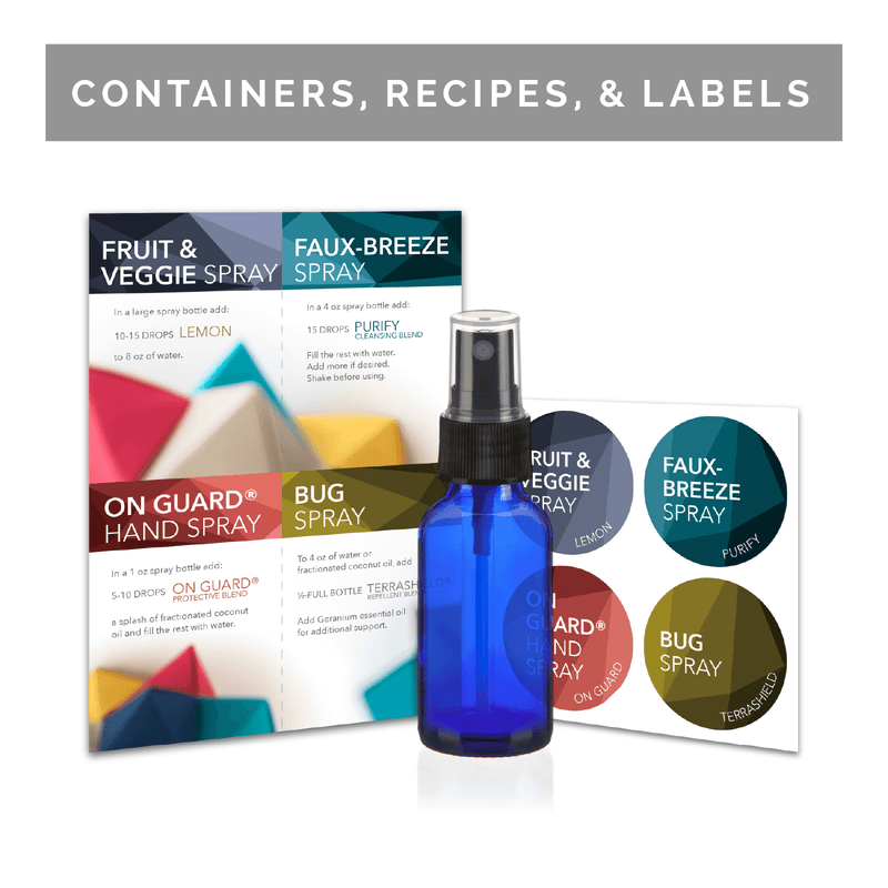 Favorite 4 - Around the Home | Event Kit Kits eos.life - eos - Easy Oil Solutions - doterra - essential oils