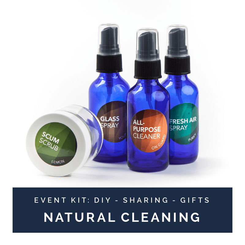Natural Cleaning | Event Kit Kits eos.life - eos - Easy Oil Solutions - doterra - essential oils
