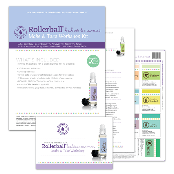 Rollerball Babies & Mamas Make-and-Take Workshop