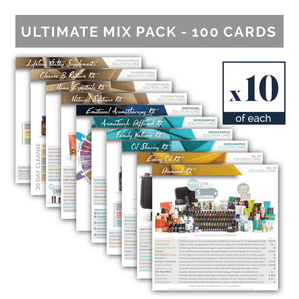 All 2017 Solution Cards | Ultimate Mix Pack (10 of each card - Mix Pack of 100)