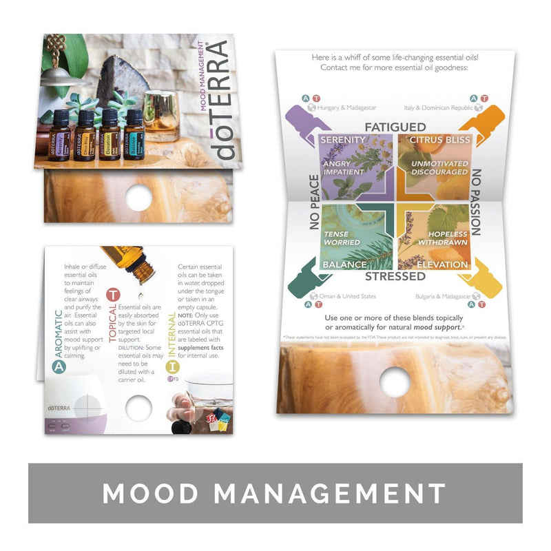 Single Theme Pack | Emotional Support Sample Cards (Individual Packs of 10) Tools Sharing Made Simple Mood Management Sample Cards (10 Cards)