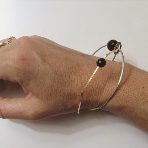 honda jazz rose gold bangle