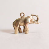 Vintage 9ct Gold Elephant Charm