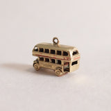 Vintage 9ct Gold London Bus Charm