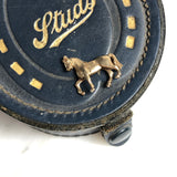 9ct gold vintage race horse charm (pony)